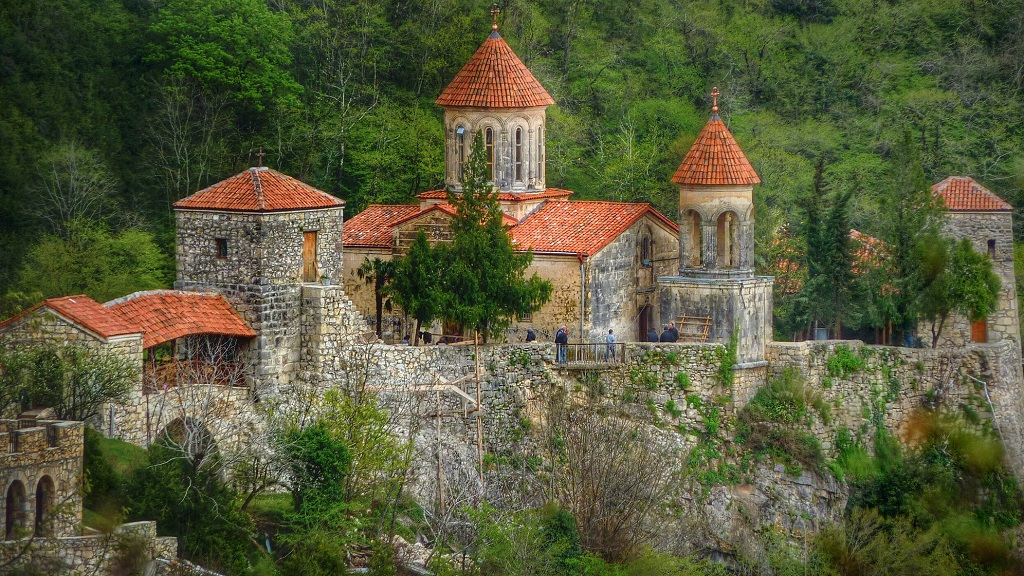 Достопримечательности Кутаиси - Монастырь Моцамета