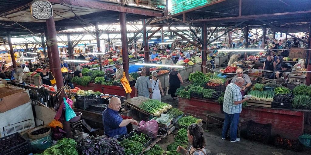 Достопримечательности Кутаиси - Зеленый базар