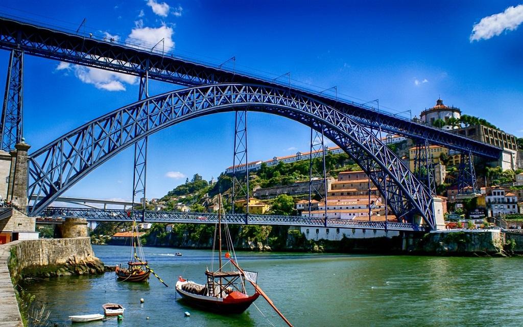 Достопримечательности Порту - Мост дона Луиша