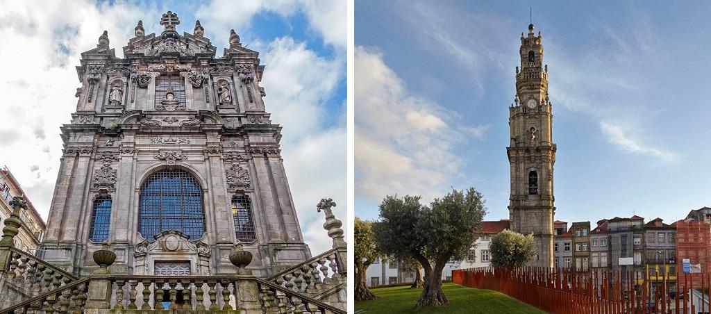 Достопримечательности Порту - Церковь и Башня Клеригуш