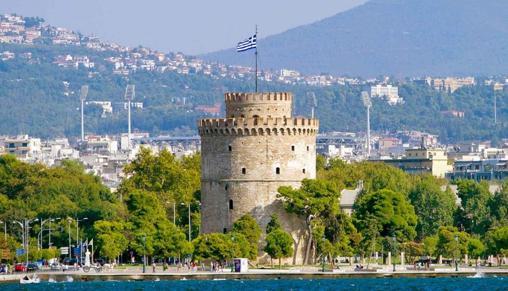 Достопримечательности Салоников - Белая башня
