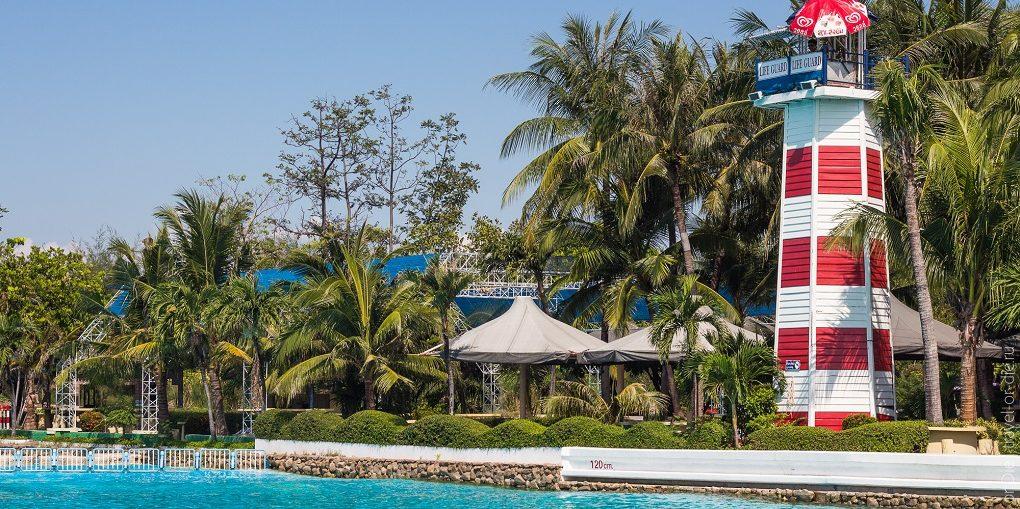Сиам Парк Бангкок и аквапарк Сиам