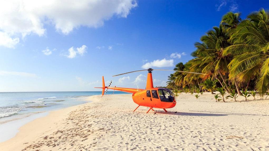 Вертолетная экскурсия на остров Саона из Пунта-Кана