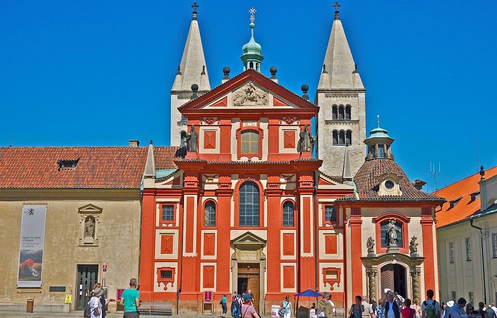 Достопримечательности Праги - Базилика святого Георгия