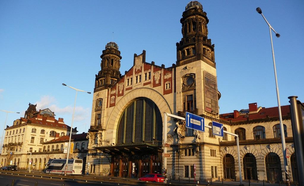 Достопримечательности Праги - Главный вокзал