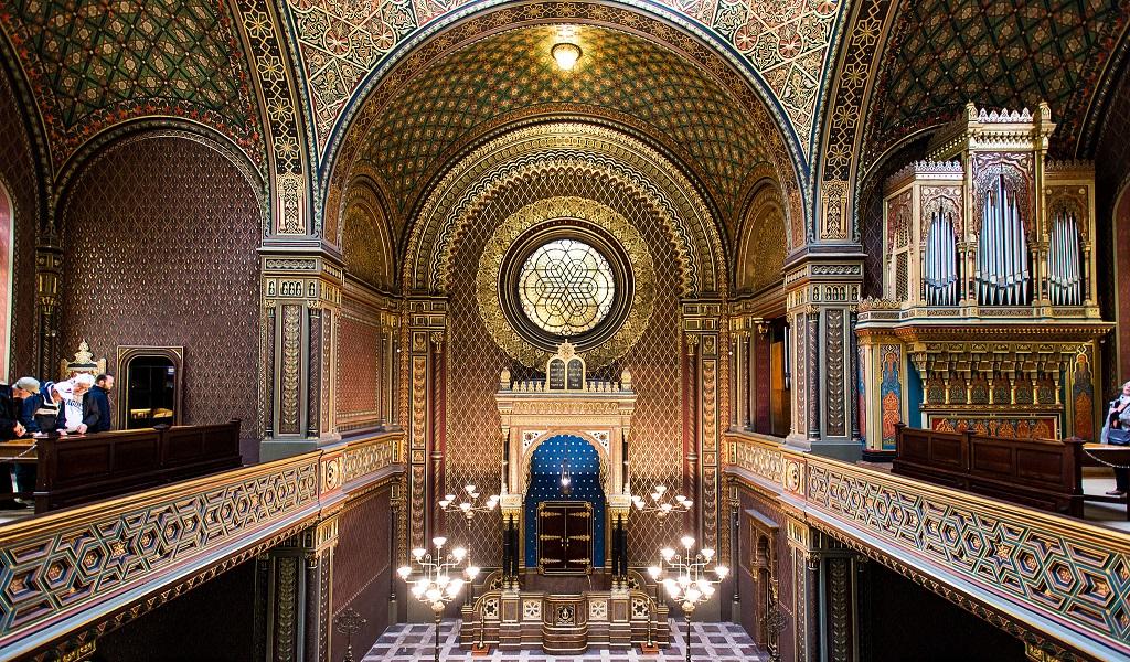 Достопримечательности Праги - Испанская синагога