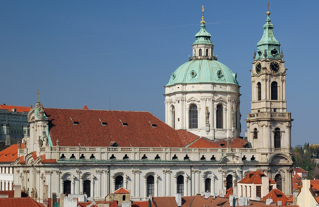 Достопримечательности Праги - Костел святого Николая