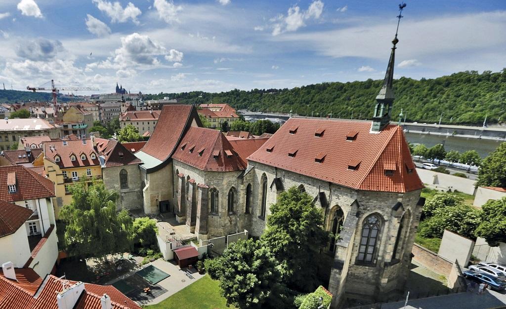 Достопримечательности Праги - Монастырь святой Анежки Чешской