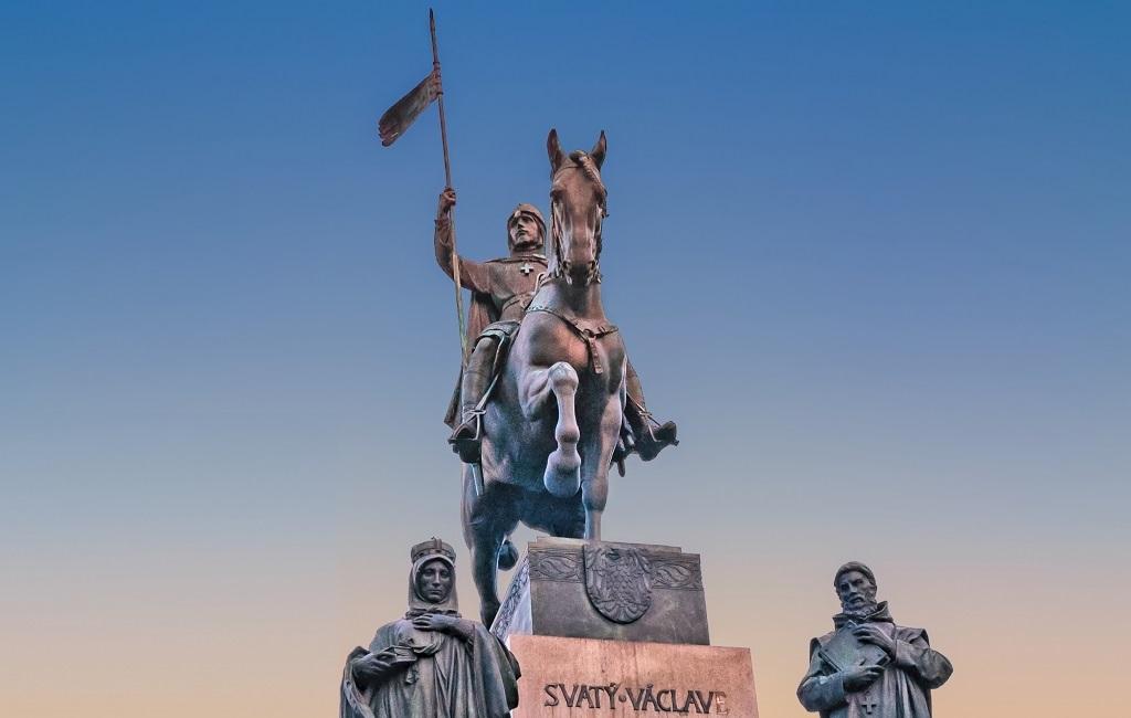 Достопримечательности Праги - Памятник святому Вацлаву
