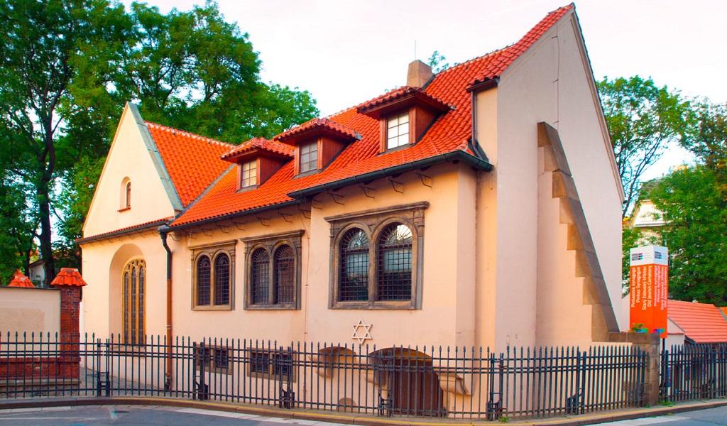 Достопримечательности Праги - Пинкасова синагога