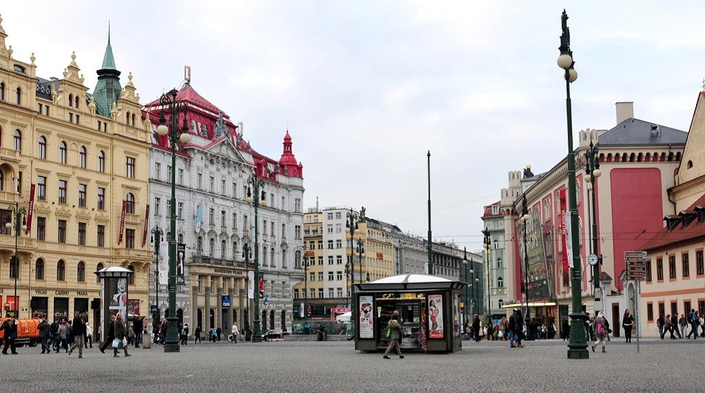 Достопримечательности Праги - Площадь Республики
