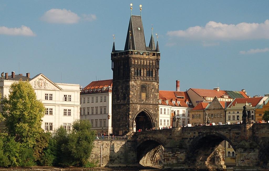 Достопримечательности Праги - Староместская мостовая башня