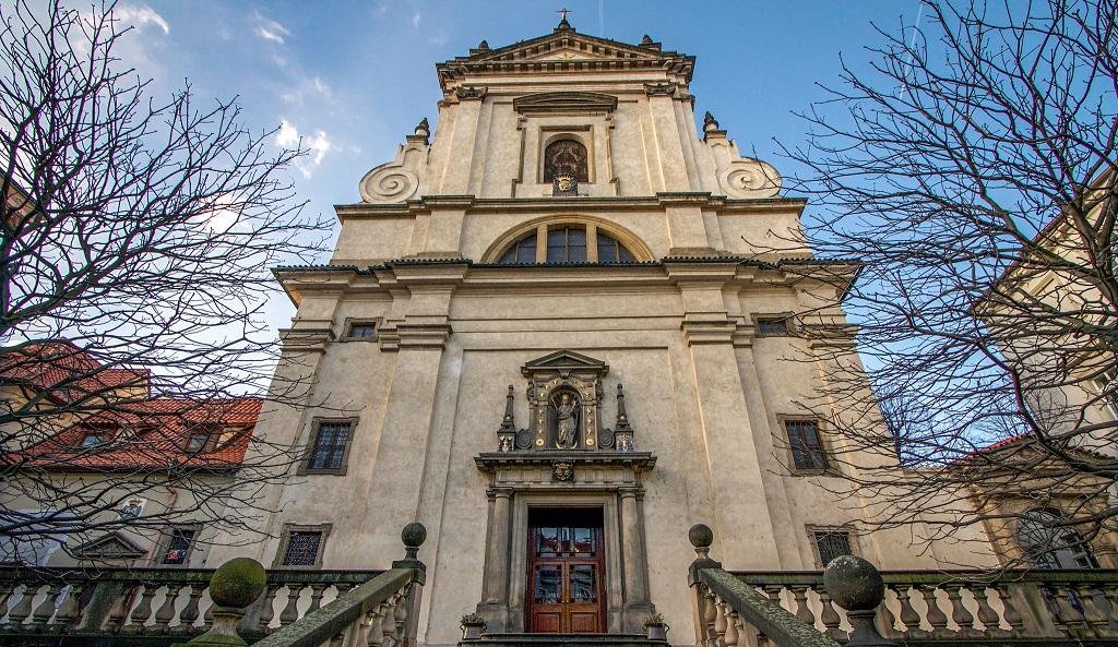 Достопримечательности Праги - Церковь Богородицы торжествующей