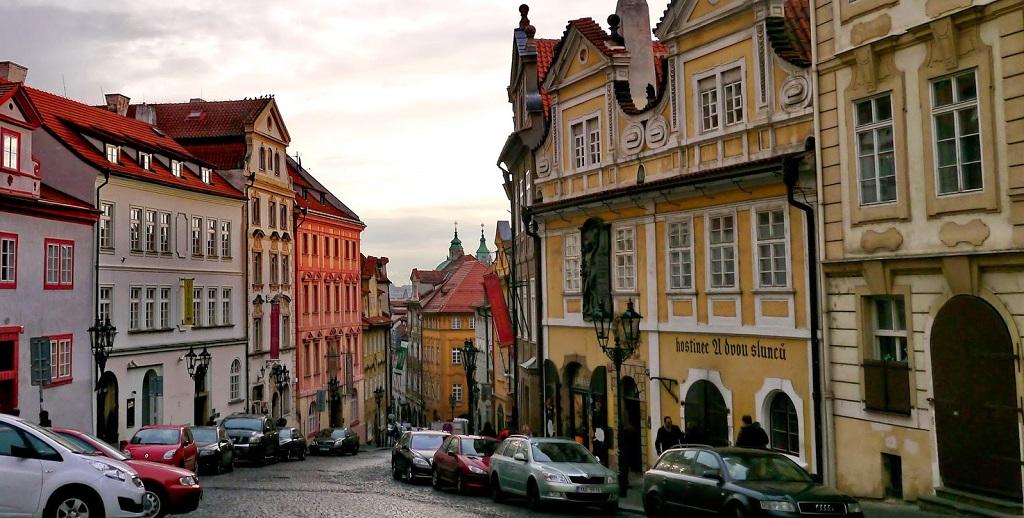 Достопримечательности Праги - Улица Нерудова