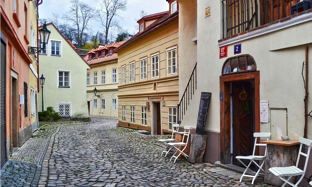 Достопримечательности Праги - Улица Новый свет