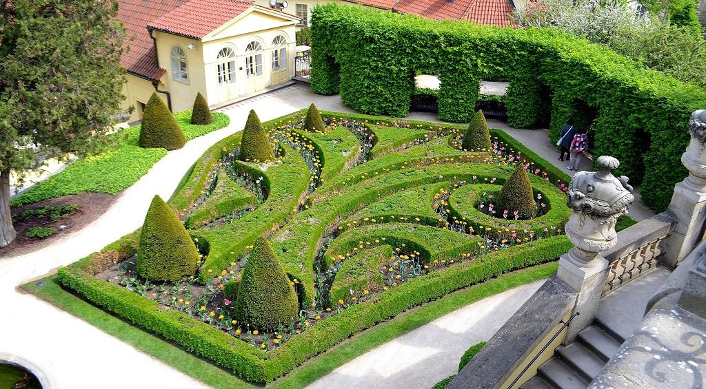 Достопримечательности Праги - Вртбовский сад