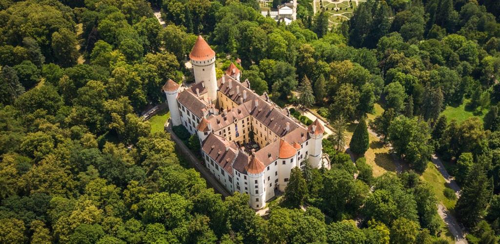 Достопримечательности Праги - Замок Конопиште