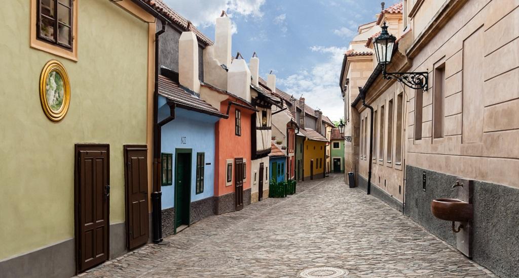 Достопримечательности Праги - Злата улочка