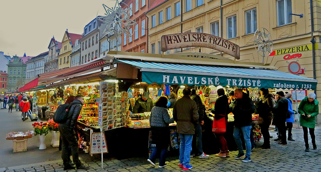 Достопримечательности Праги - гавельский рынок