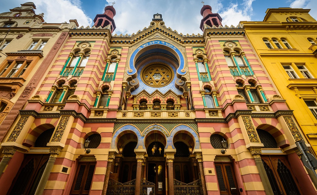 Достопримечательности Праги - иерусалимская синагога