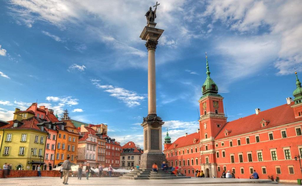 Достопримечательности Варшавы - Колонна Сигизмунда III