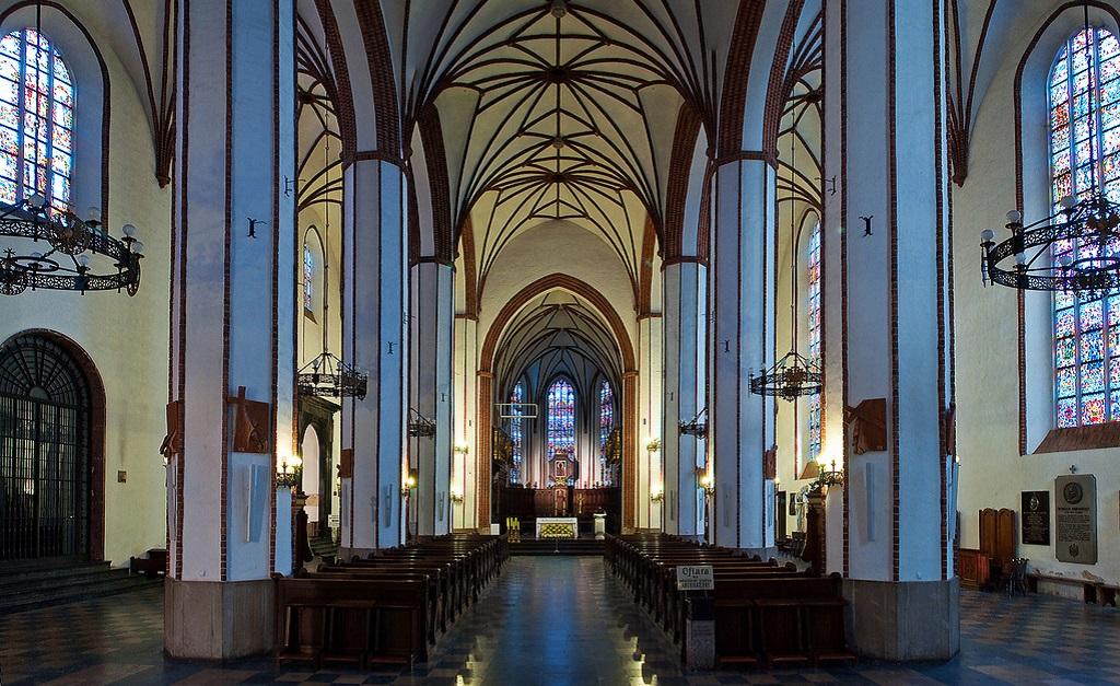 Достопримечательности Варшавы - Костел Святого Иоанна Крестителя