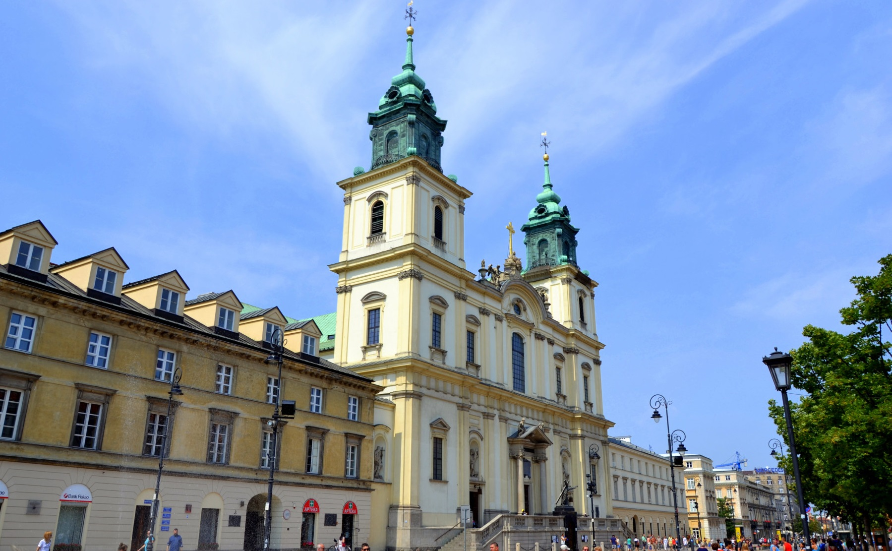 Достопримечательности Варшавы - Костел Святого Креста