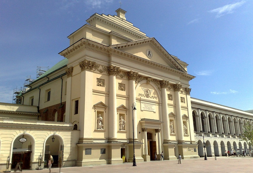 Достопримечательности Варшавы - Костел Святой Анны