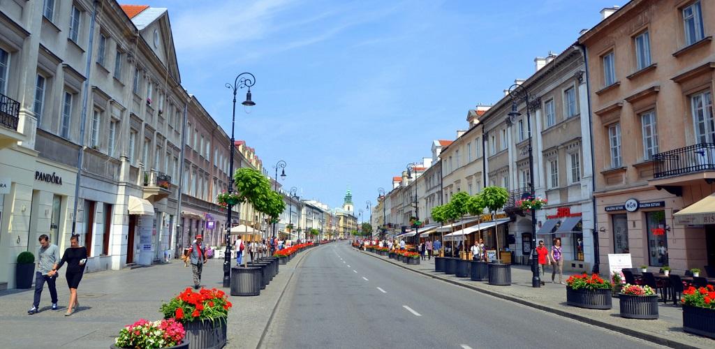 Достопримечательности Варшавы - Краковское предместье