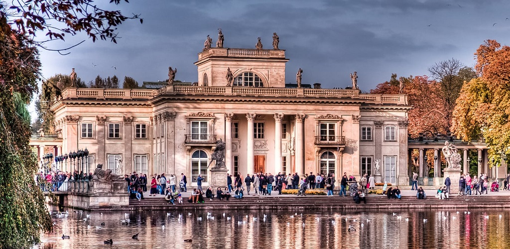 Достопримечательности Варшавы - Лазенковский дворец