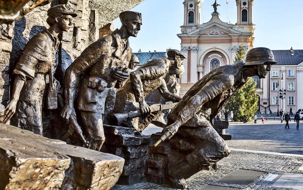 Достопримечательности Варшавы - Памятник Варшавскому восстанию