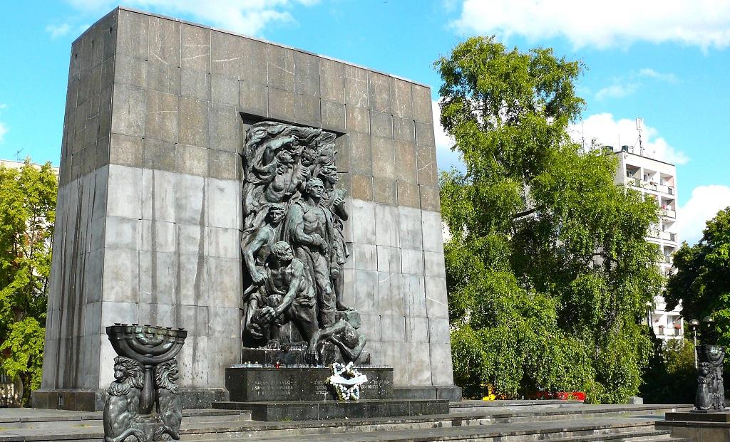 Достопримечательности Варшавы - Памятник героям гетто