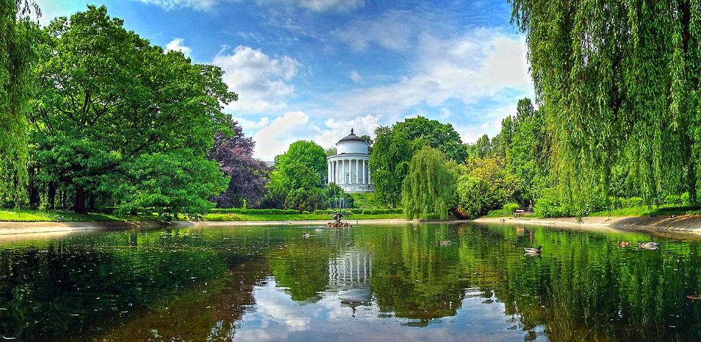 Достопримечательности Варшавы - Саксонский сад