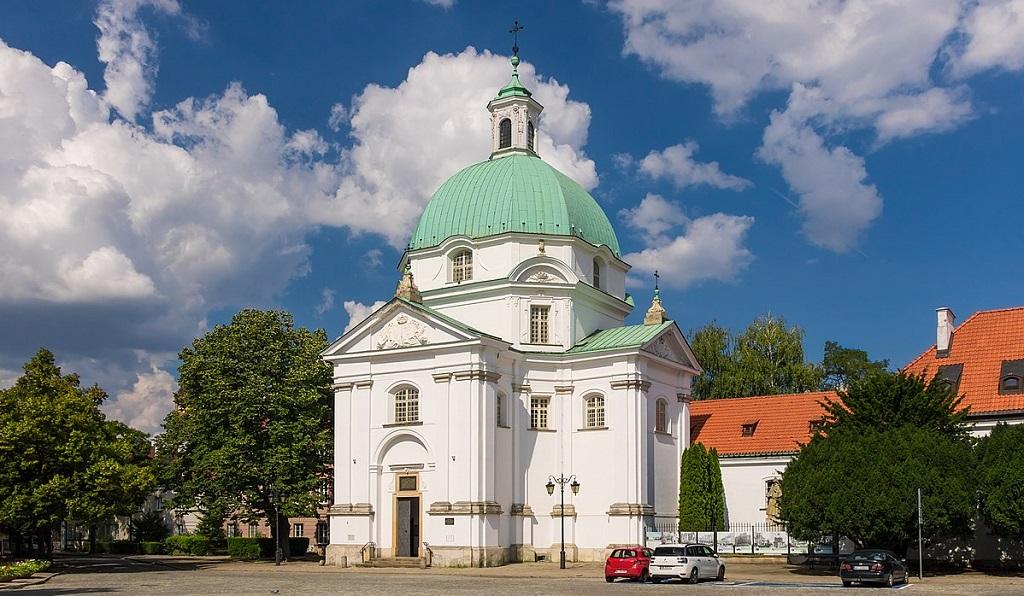 Достопримечательности Варшавы - костел святого казимира