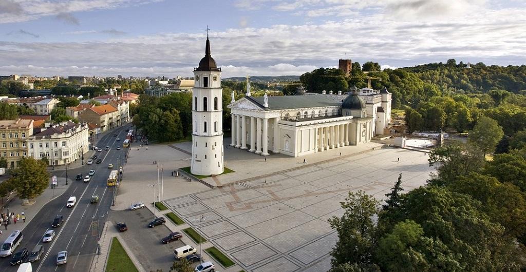 Достопримечательности Вильнюса - Кафедральная площадь