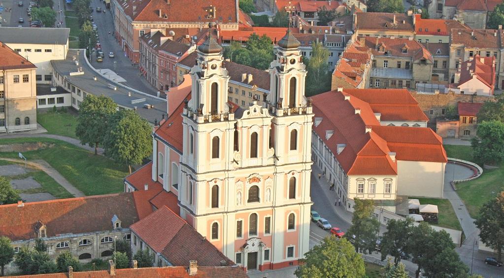 Достопримечательности Вильнюса - Костел Святой Екатерины