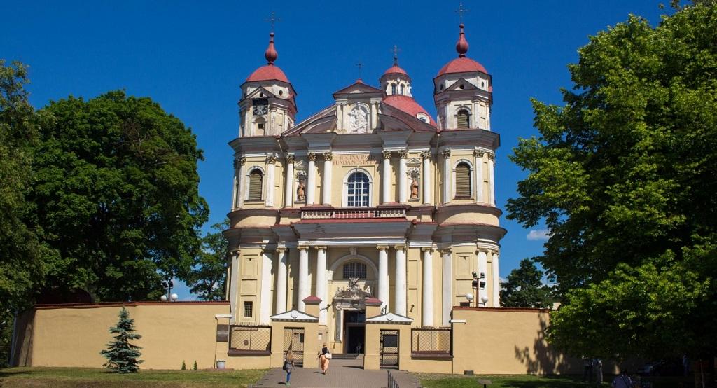 Достопримечательности Вильнюса - Костёл Святых Петра и Павла