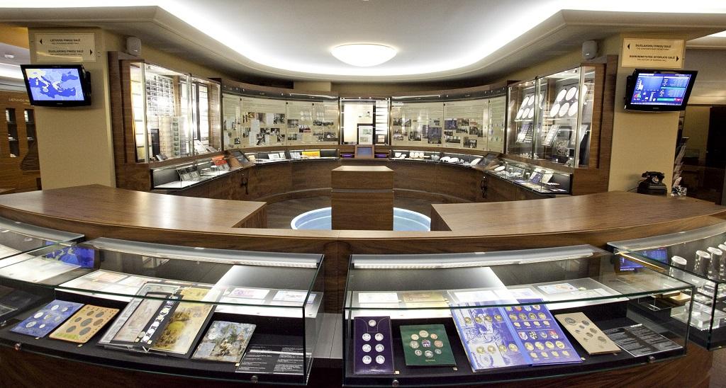 Достопримечательности Вильнюса - Музей денег Банка Литвы