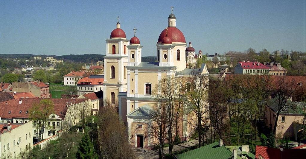 Достопримечательности Вильнюса - Церковь Святого Духа Вильнюс