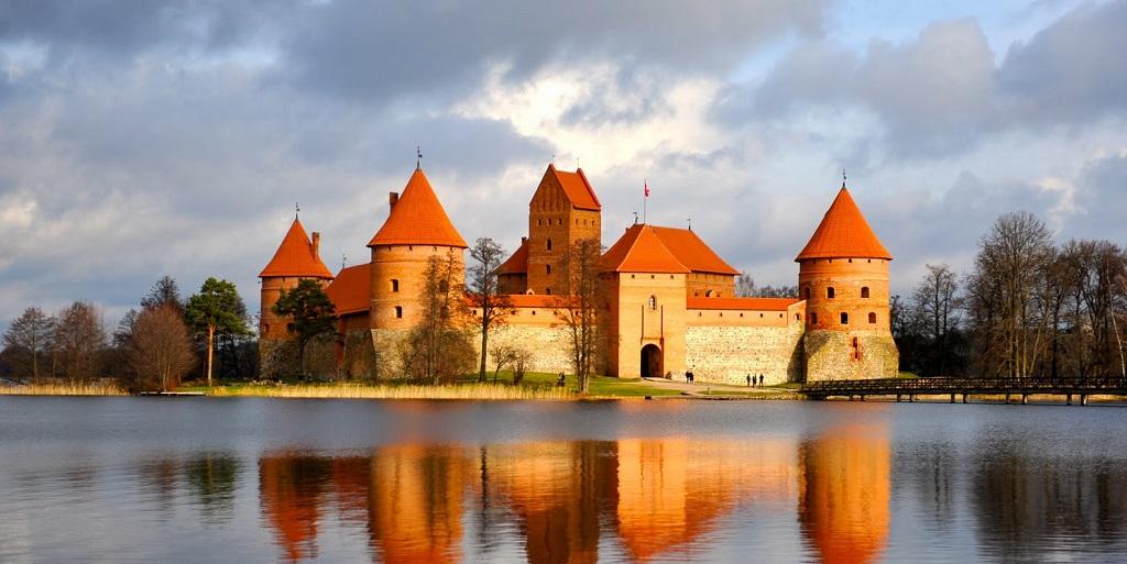 Достопримечательности Вильнюса - Тракайский замок
