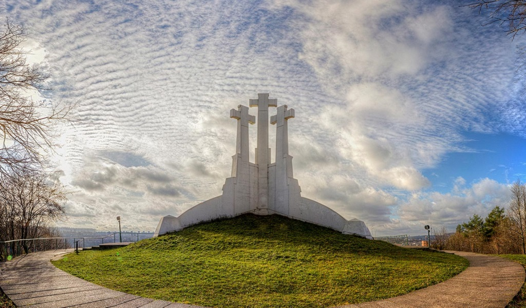 Достопримечательности Вильнюса - Три креста