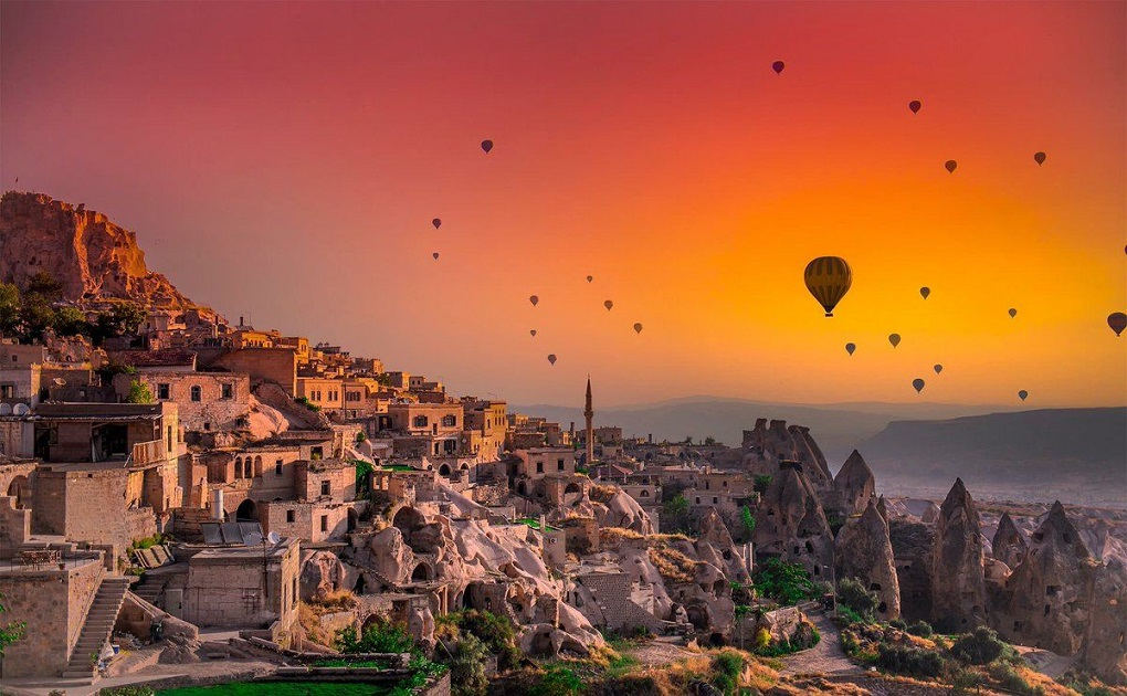 Экскурсия из Стамбула в Каппадокию