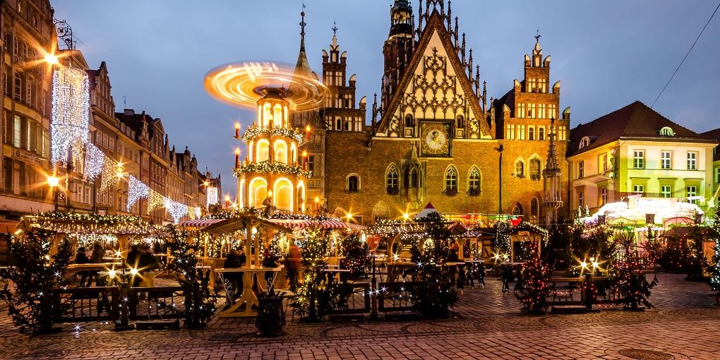 Новогодние экскурсии в Варшаве