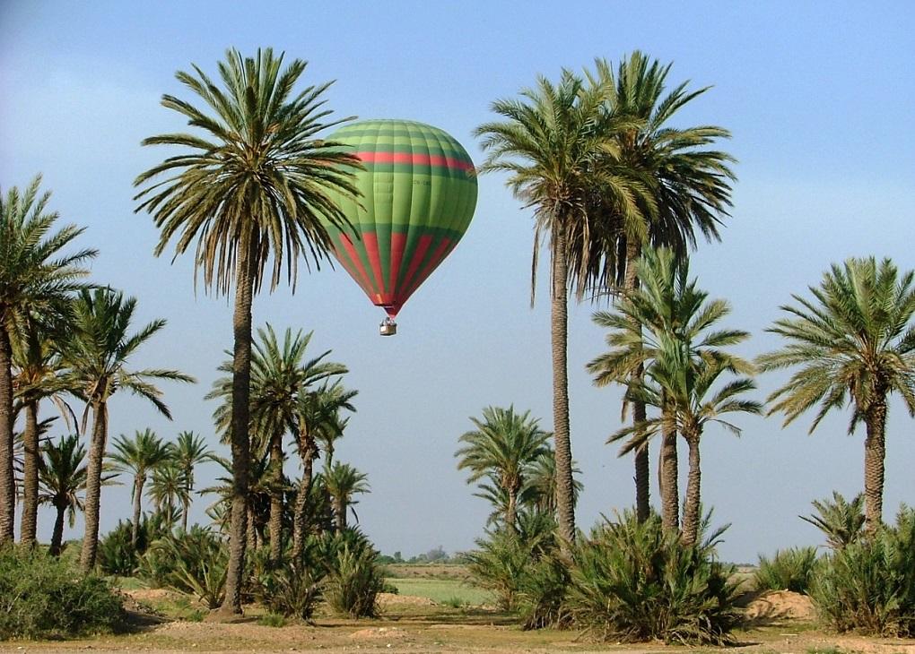 Полёт на воздушном шаре в Марракеше