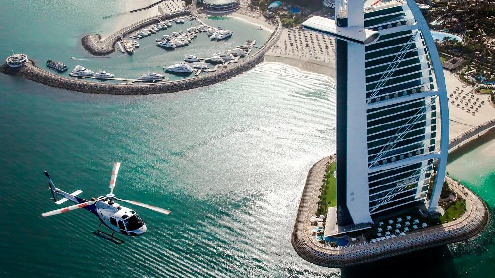 Экскурсия на вертолете в Дубае