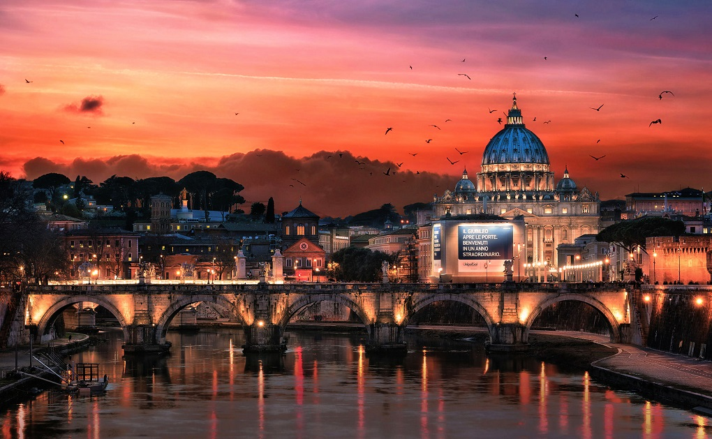 Экскурсия ночной Рим