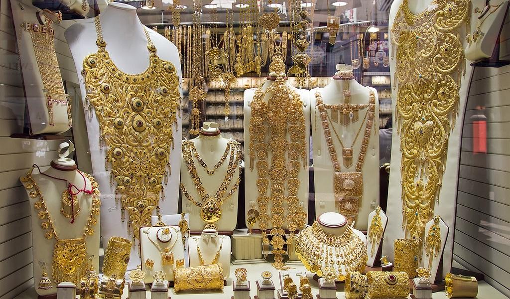 Достопримечательности Шарджи - Золотой рынок