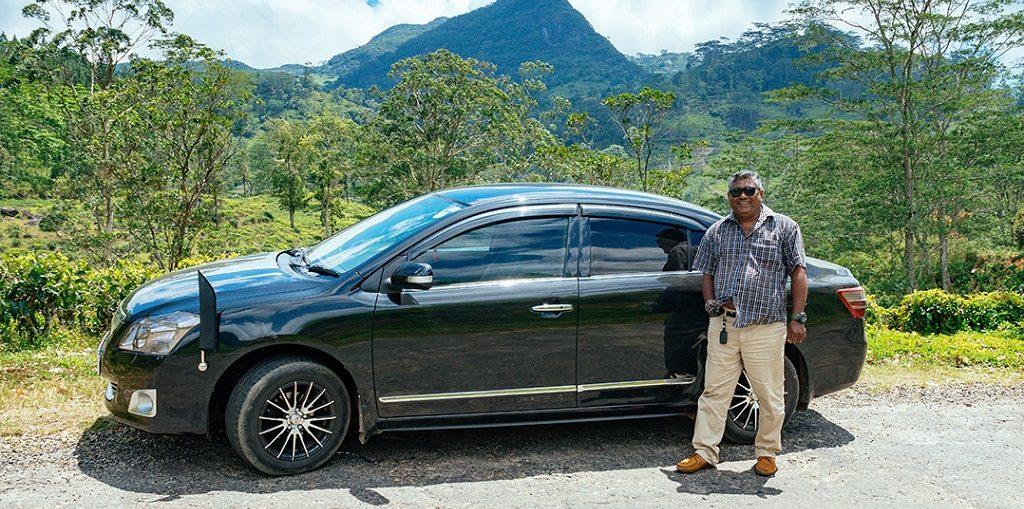 Аренда авто с водителем на Шри-Ланке