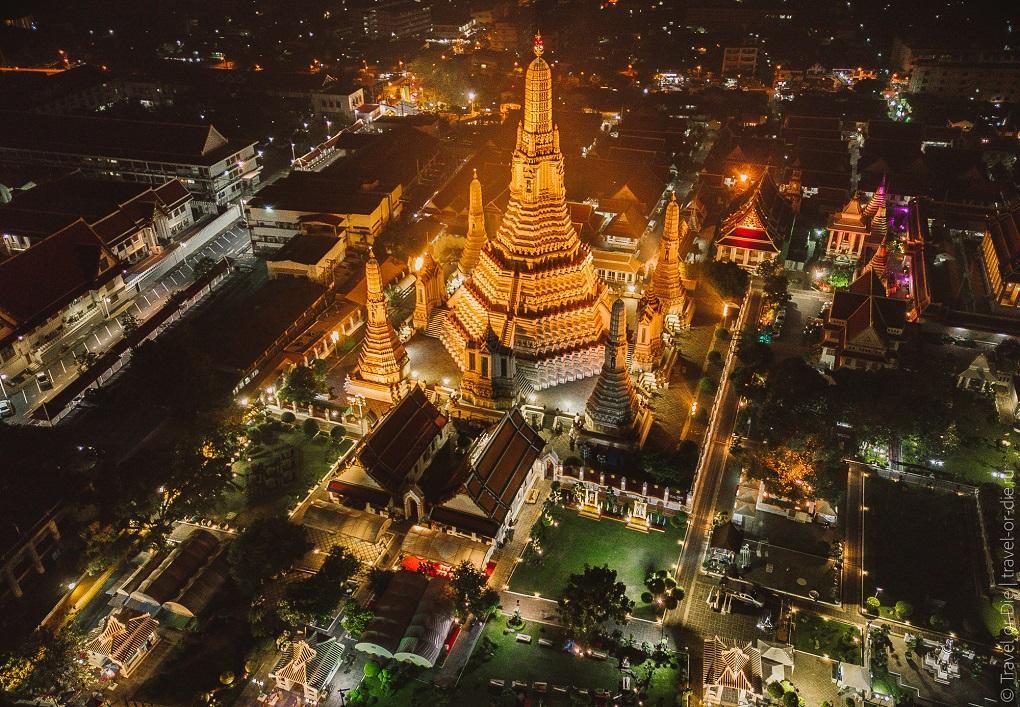 Достопримечательности Бангкока - Храм Рассвета (Ват Арун)
