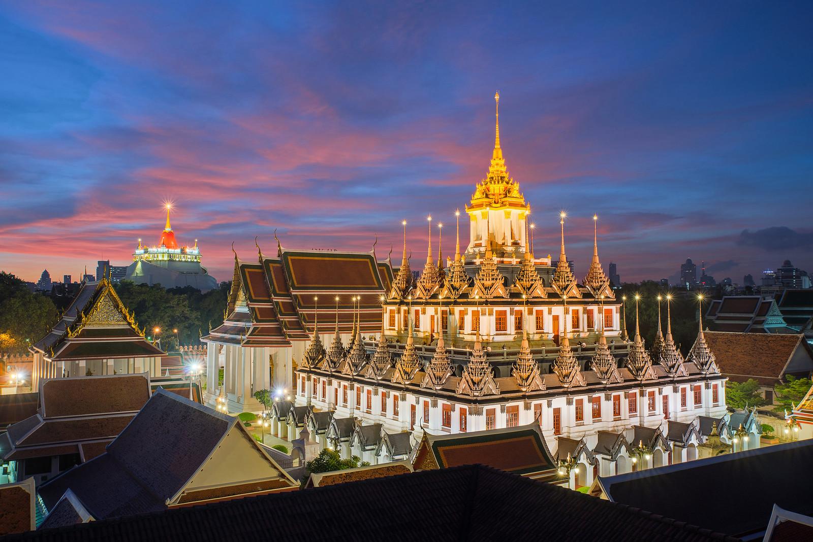 Достопримечательности Бангкока - Храм Ват Ратчанадда